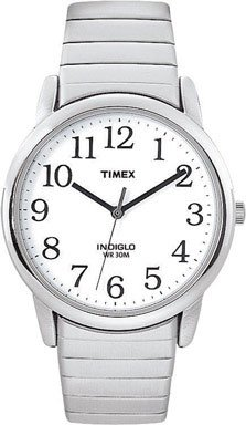 Timex Corp T20001A4 Men's Full Numeric Watch – Silver