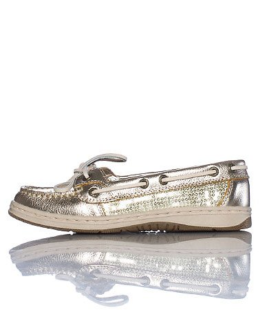 Sebago Women's Skimmer Boat Shoe,Gold,8 M US