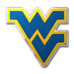 Buy NCAA West Virginia Mountaineers Die Cut Color Automobile Emblem by Team ProMark