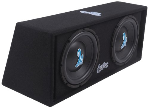 West Coast Customs Wcc212A 600-Watt Dual 12-Inch Vacuum Formed Poly Coned Subwoofers - Set Of 2