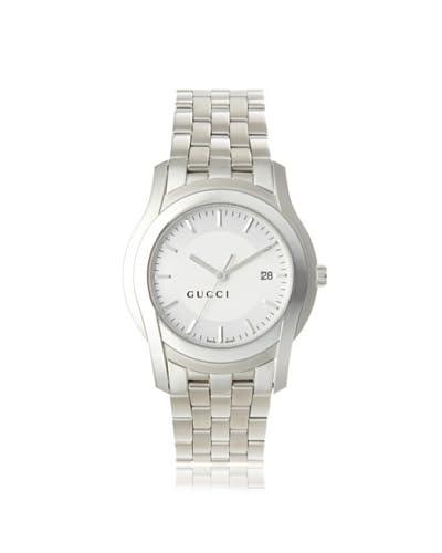Gucci Men's YA055212 G-Class Silver-Tone Matte Dial Watch