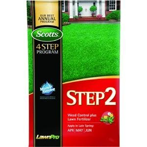 Scotts 23614 LawnPro Step 2 Weed Control Plus Lawn Fertilizer, 14.63-Pound