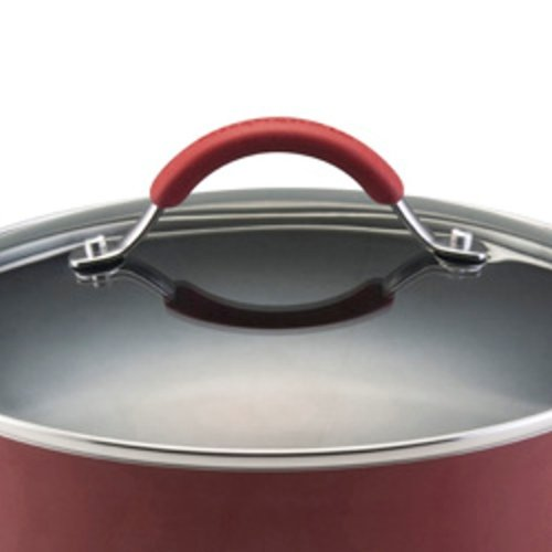 Kitchenaid aluminum nonstick 12 piece cookware set red kandys kitchen - Kitchenaid aluminum nonstick piece cookware set ...