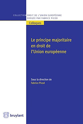 Le principe majoritaire en droit de l'Union européenne