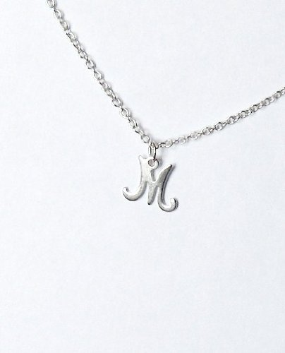 Midor925 925 Sterling Silver Childrens Initial Pendant Necklacemd00169NIn Gift Box