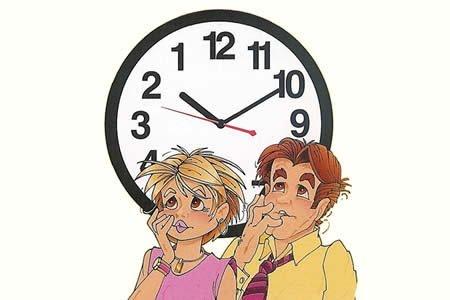 10 Inch Backward Clock by Loftus International
