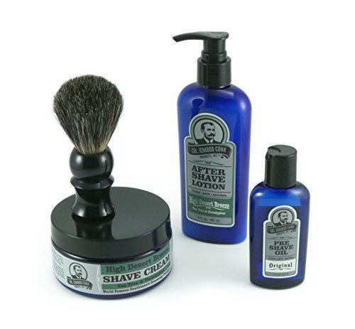 colonel-conk-all-natural-4-step-shaving-kit-high-desert-breeze-shaving-cream-badger-brush-pre-shave-