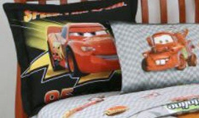 Review Disney Cars Pillow Sham in Black