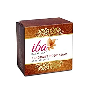 Iba Halal Care Fragrant Body Soap Arabian Oudh, 100g (Pack of 2)