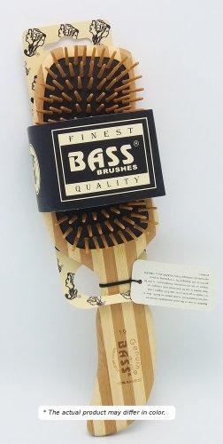 Brush - Semi S Shaped Wood Handle & Wood Bristles Bass Brushes 1 Brush (S S Brush compare prices)