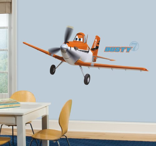 Roommates-22890-Disney-Planes-Dusty-Riesen-WandtattooSticker-geblistert-174-x-63-cm
