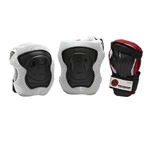 K2 Performance Pack de protège-poignet + coudière + genouillère Homme Gris L