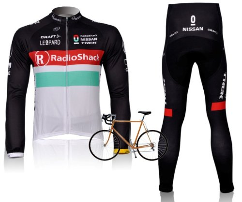 2012-radioshack-team-harness-long-sleeved-cycling-clothing-bike-clothing-breathable-perspiration-whi