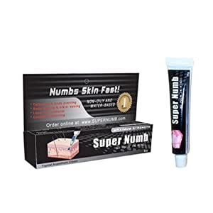 Super Numb 1x10g Tubes Strong Quality Tattoo Numbing Cream Anesthetic