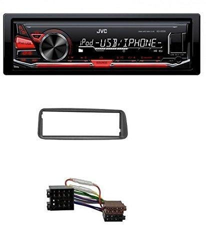 JVC-MP3-USB-Autoradio-fr-Peugeot-206-ab-1998