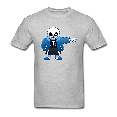 SBJYONG Men's Undertale San Heart Design Short Sleeve T shirt XXL
