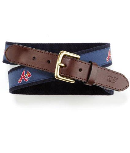 MLB Atlanta Braves Canvas Club Belt, 42-inch