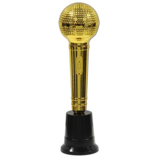 Microphone Award Party Accessory (1 Count) (1/Pkg)