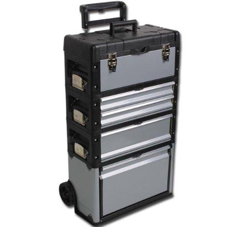 MAXI-Stahl-Werkzeugkoffer-Werkzeugkiste-Werkzeugtrolley-Werkstattwagen-Modell-ELECSA-2044