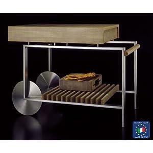 Carrello cucina piano di lavoro in - Carrello cucina design ...