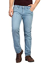 FN Jeans Stylish Light Blue Slim Fit Low Rise Denim For Men | FNJ9147