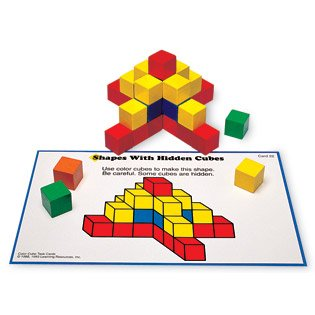 CREATIVE COLOR CUBES ACTIVITY CARD - Buy CREATIVE COLOR CUBES ACTIVITY CARD - Purchase CREATIVE COLOR CUBES ACTIVITY CARD (Learning Resources, Toys & Games,Categories)