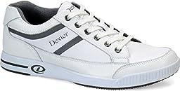 Dexter Keegan Bowling Shoes, White, 11.5