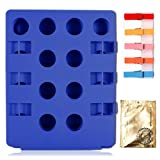 BoxLegend Convenient Adjustable Clothes Shirts Folding Board Removable Creative Magic Laundry Clothing Folder Board with Four Free Gifts-Blue