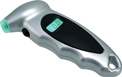 Bell 22-5-60097-M Black/Silver Digital Tire Gauge