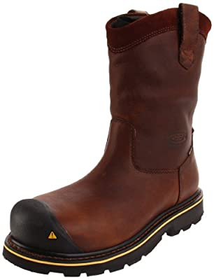 Keen Utility Men's Dallas Wellington Steel Toe Work Boot
