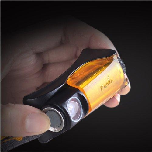 Black/Orange Fenix Hl10 Headlamp