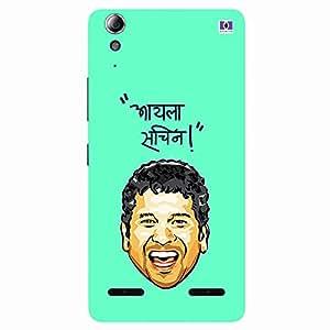 Aaila Sachin! - Mobile Back Case Cover For Lenovo A6000 Plus