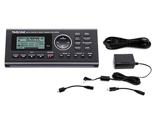 TASCAM ギター&ベース・トレーナー/レコーダー GB-10 + 純正ACアダプター PS-P520E セット