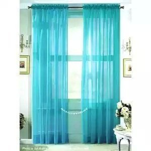 Hlc me turquoise 2 pack 108 inch x 84 inch window for 108 window treatments