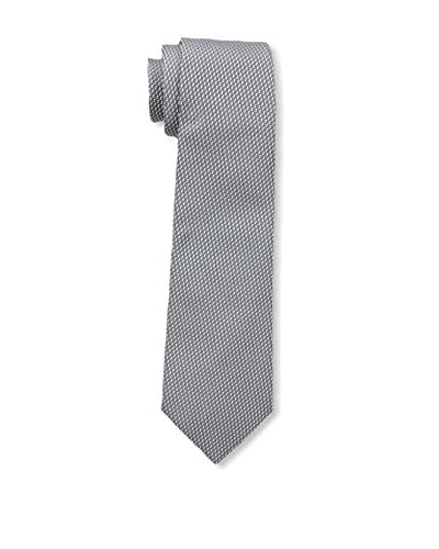 Valentino Men's Printed Woven Tie, Grey