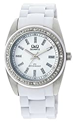 Q&Q Regular Analog White Dial Womens Watch - GQ13J201Y