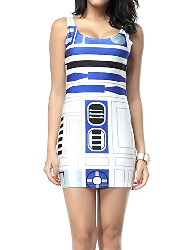 Pink Queen Artoo Star Wars Dress for Women