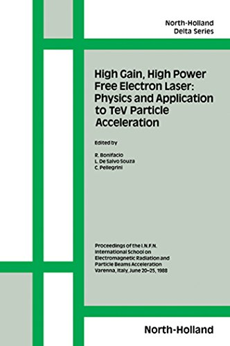 high-gain-high-power-free-electron-laser-physics-and-application-to-tev-particle-acceleration-physic