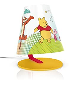 Philips Disney Winnie The Pooh Children's Table Lamp - 1 x 4 W Integrated LED by Philips