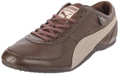 PUMA Women's Lanai XT Metallic Fashion Sneaker,Chocolate Brown,10 B US