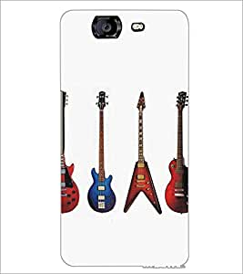 MICROMAX A350 CANVAS KNIGHT GUITARS Designer Back Cover Case By PRINTSWAG