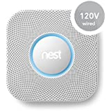 Nest Protect Smoke and Carbon Monoxide Alarm (Wired 120V) 2002LW