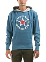 Hot Buttered Sudadera con Capucha Diamondhead (Azul Celeste)