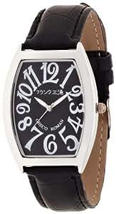 [フランク三浦]MIURA 零号機(改) グレコローマン400戦無敗記念モデル 正回転 完全非防水 腕時計 ジャパンクオーツ FM00K-BK