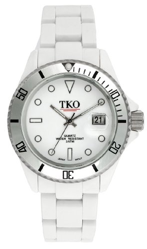 TKO ORLOGI Unisex TK536-WT Ceramic Glossy Plastic