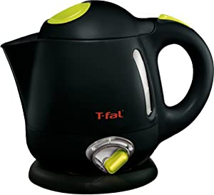 T-fal BF6138 Balanced Living 1-Liter 1750-Watt Electric Mini Kettle with Variable Temperature, Black