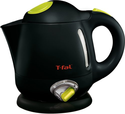 T-fal BF6138 Balanced Living 4-Cup 1750-Watt Electric Kettle with Variable Temperature and Auto Shut Off, 1-Liter, Black (Mini Electric Tea Kettle compare prices)