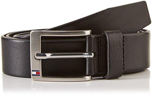 Tommy Hilfiger E367895011090 - Cinturón Hombre, Negro, 38 cm (Talla del fabricante: 105)