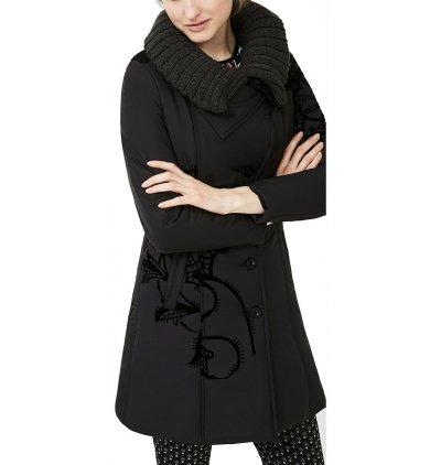 Desigual -  Cappotto  - Giacca trapuntata - Donna nero 44
