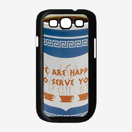 Nyc Coffee Cup - Plastic Phone Case Back Cover (Samsung Galaxy S3 I9300)